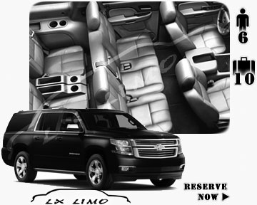 SUV Suburban for hire in Edmonton