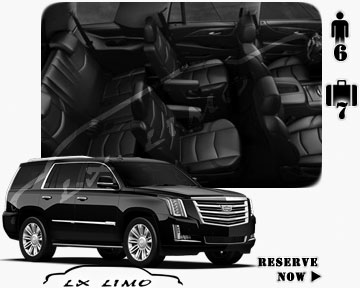 SUV Escalade for hire in Edmonton AB