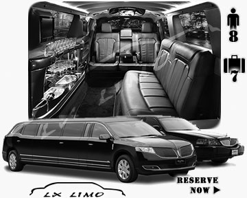 Stretch TownCar Limo for hire in Edmonton AB